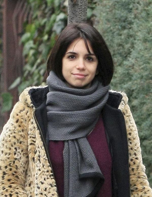 Elena Furiase con pelo corto