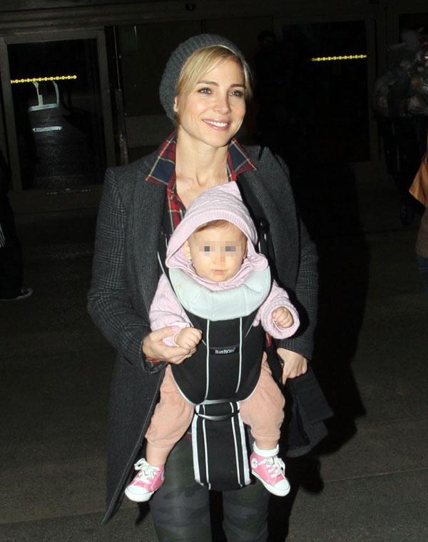 Elsa Pataky y Chris Hemsworth con su hija India