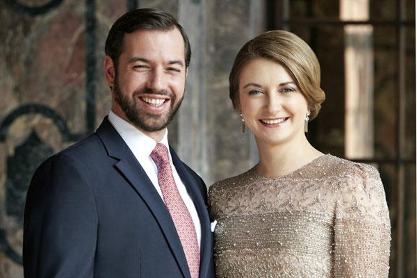guillermo y stéphanie de luxemburgo fotos oficiales
