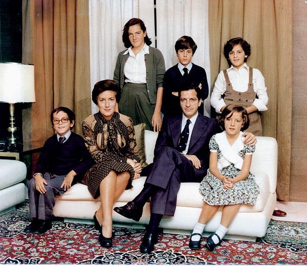 La familia Suarez se instala en La Moncloa