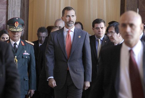 Príncipe Felipe en Paraguay