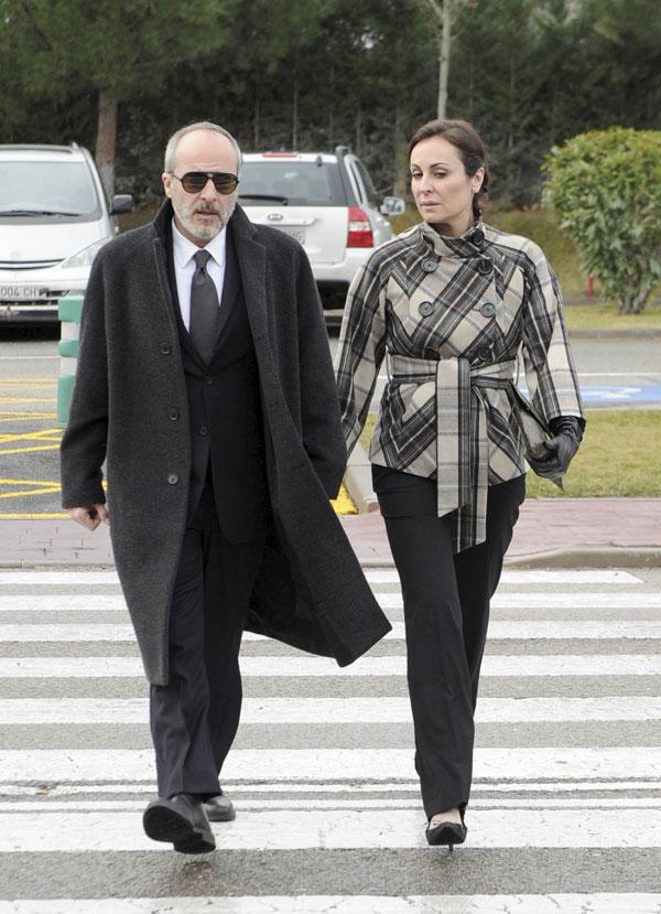 Ana Milán ha sido un gran apoyo para su novio, Fernando Guillén Cuervo