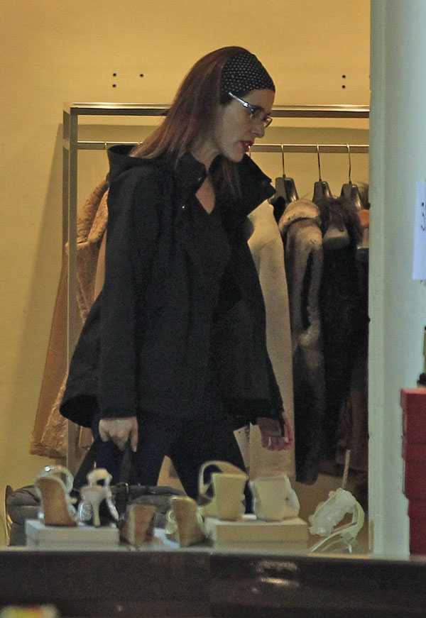 Raquel Sánchez Silva de compras