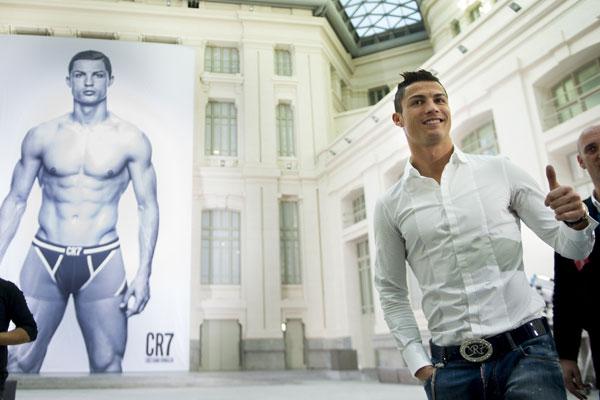 Cristiano Ronaldo en ropa interior