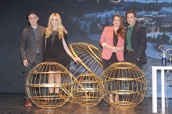 Marta Sánchez, Niña Pastori y David Bustamante, anuncio loteria de navidad