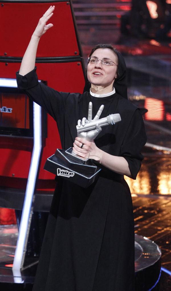 Sor Cristina Scuccia La Voz Italia