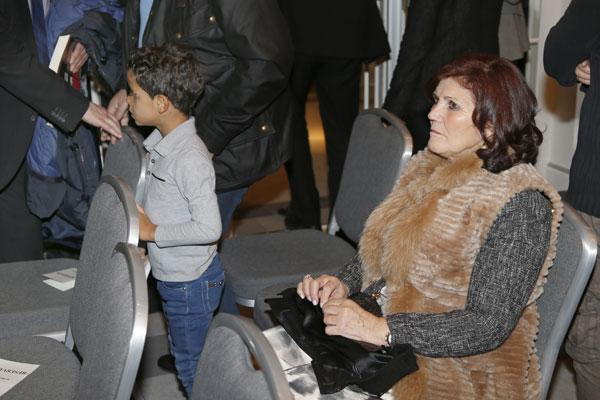 Cristiano Ronaldo y el pequeño Nicolas en Madrid