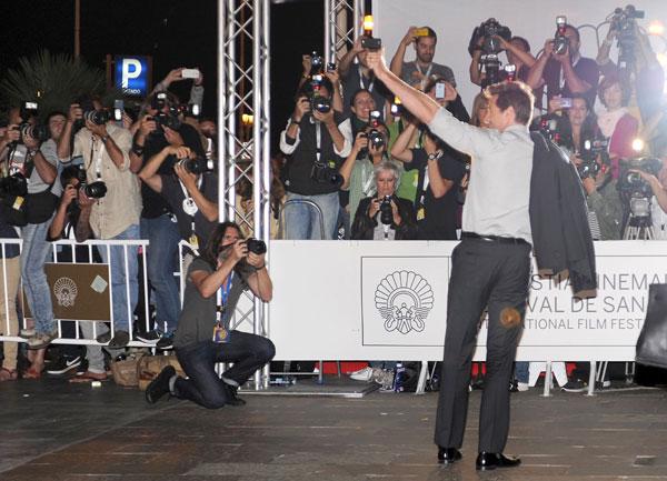 Hugh Jackman en el Festival de San Sebastián