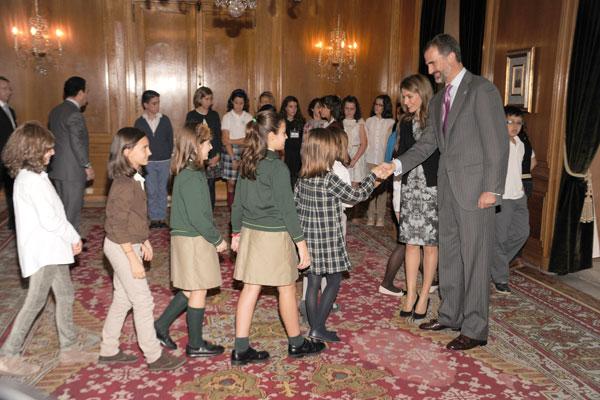 Letizia y Felipe ya están en Oviedo para entregar sus Premios Príncipe de Asturias 2013