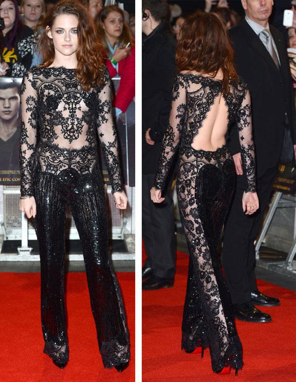 Kristen Stewart estreno de Amanecer en Londres