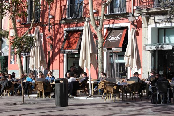terraza restaurante garbo