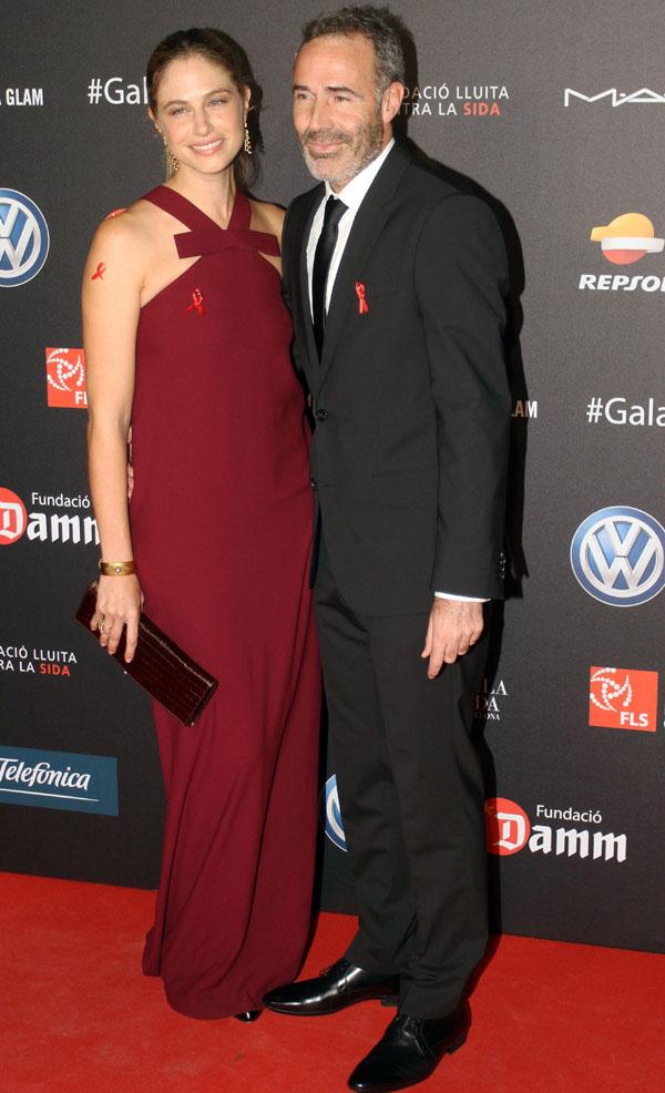 Martina Klein y Alex Corretja