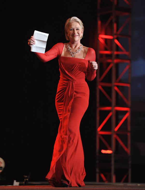 """Helen Mirren ya ha ganado un Oscar con su papel en """"La reina"""""""