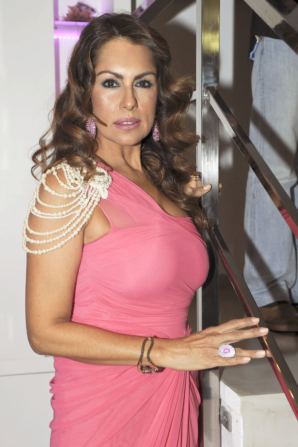 Jacqueline de la Vega en Marbella