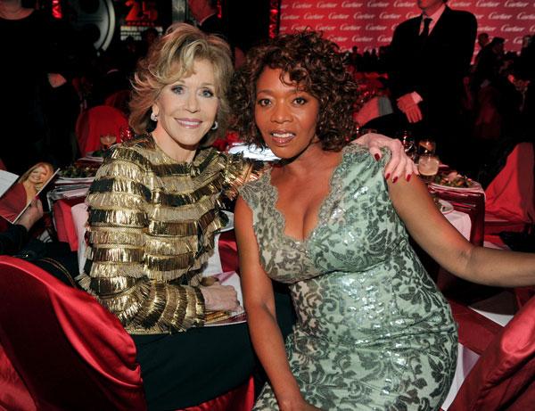 Jane Fonda y Alfre Woodward en los Premios Palm Springs 2014
