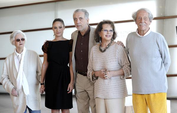 El equipo artístico de El artista y la modelo de Fernando Trueba
