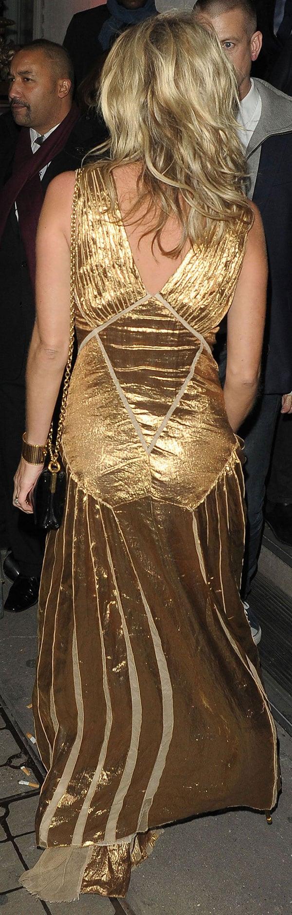 Kate Moss presentación libro Londres