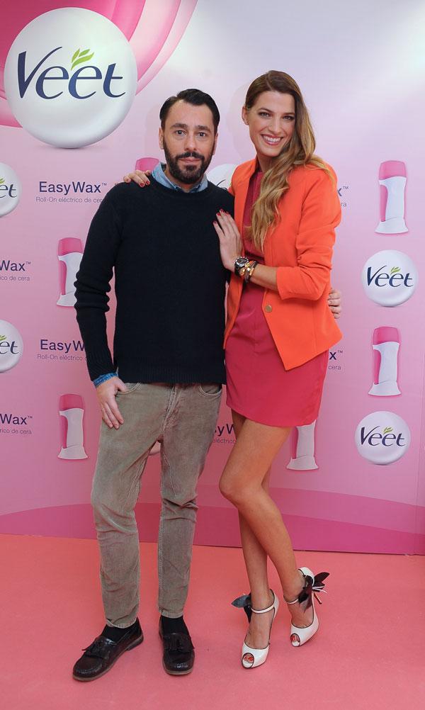 Laura Sánchez y Juanjo Oliva imagen de Veet