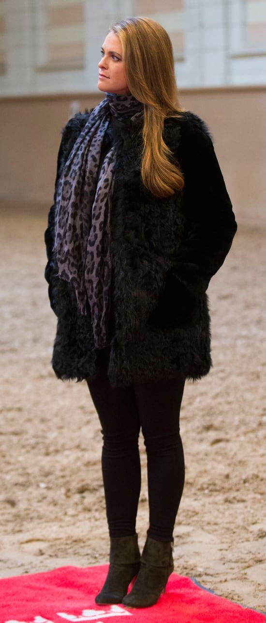5c711143 Magdalena de Suecia, radiante en su séptimo mes de embarazo - Semana