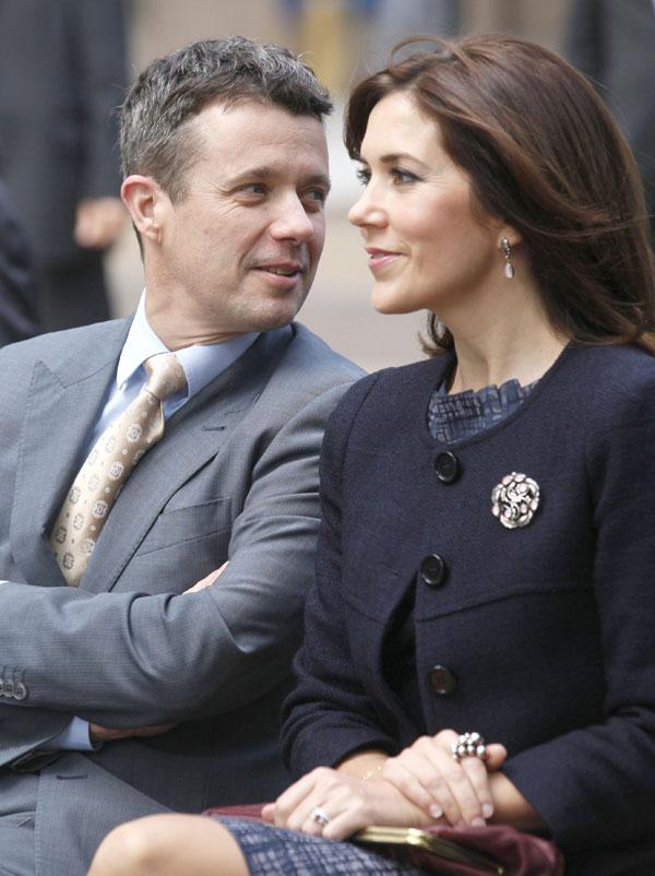 Los herederos daneses tienen cuatro hijos: Christian, de siete años ...