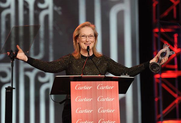 Meryl Streep en los Premios Palm Springs 2014