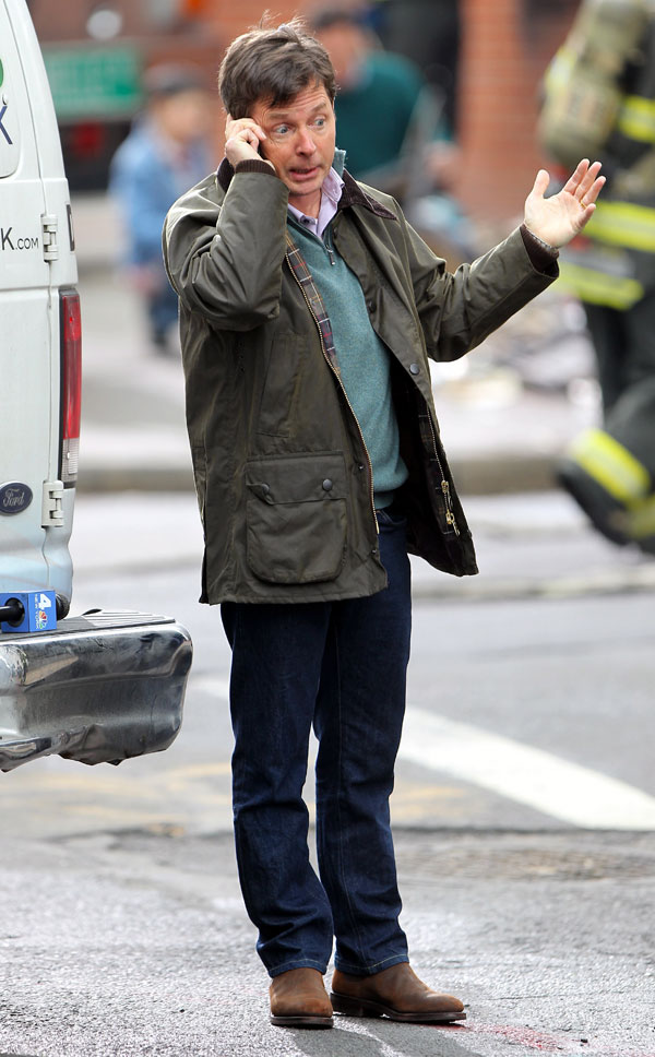 Michael J. Fox, que padece Parkinson, vuelve al trabajo