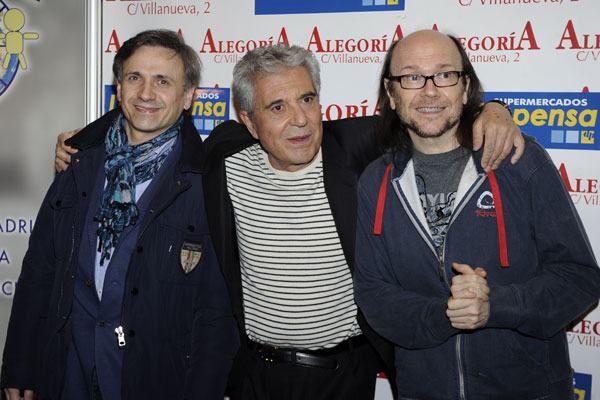 José Mota, Andrés Pajares, Santiago Segura