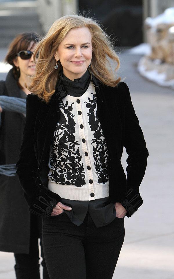 Nicole Kidman acaba de dar vida a Grace Kelly en una película