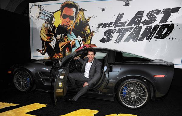 Eduardo Noriega en el estreno de The Last Stand en los Ángeles
