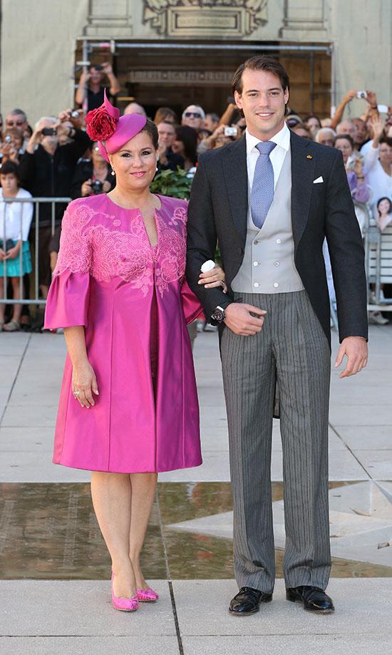 La romántica boda del príncipe Félix de Luxemburgo y Claire ...