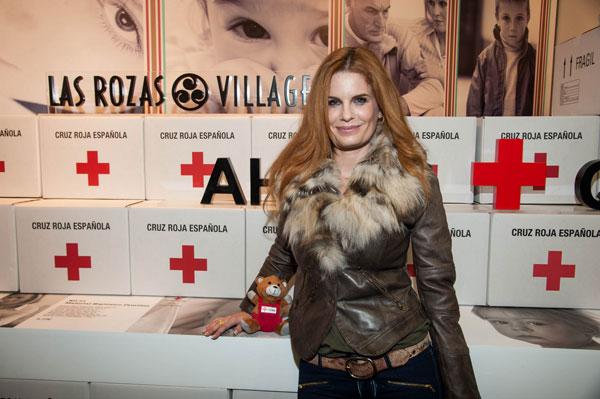 Olivia de Borbón solidaria con Cruz Roja