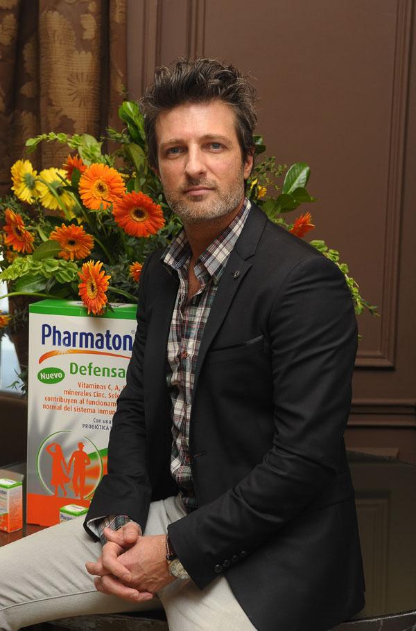 Jesús Olmedo, imagen de Pharmaton