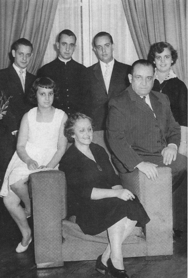 papa-francisco-I y su familia