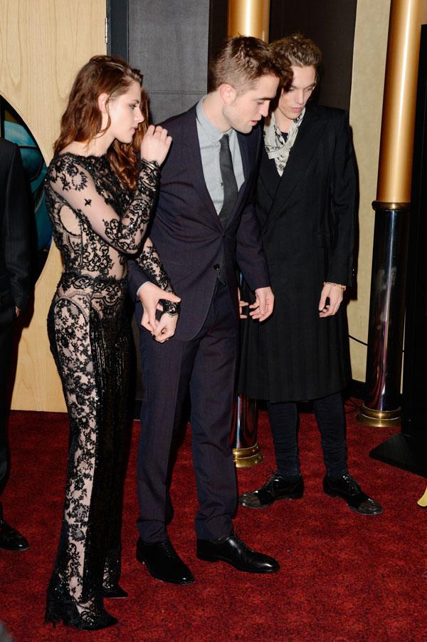 Kristen Stewart y Robert Pattinson estreno de Amanecer en Londres