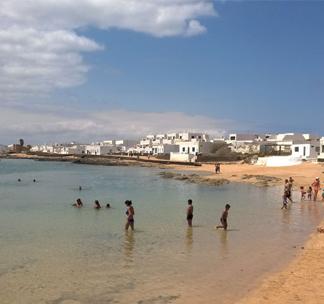 Las playas salvajes de La Graciosa