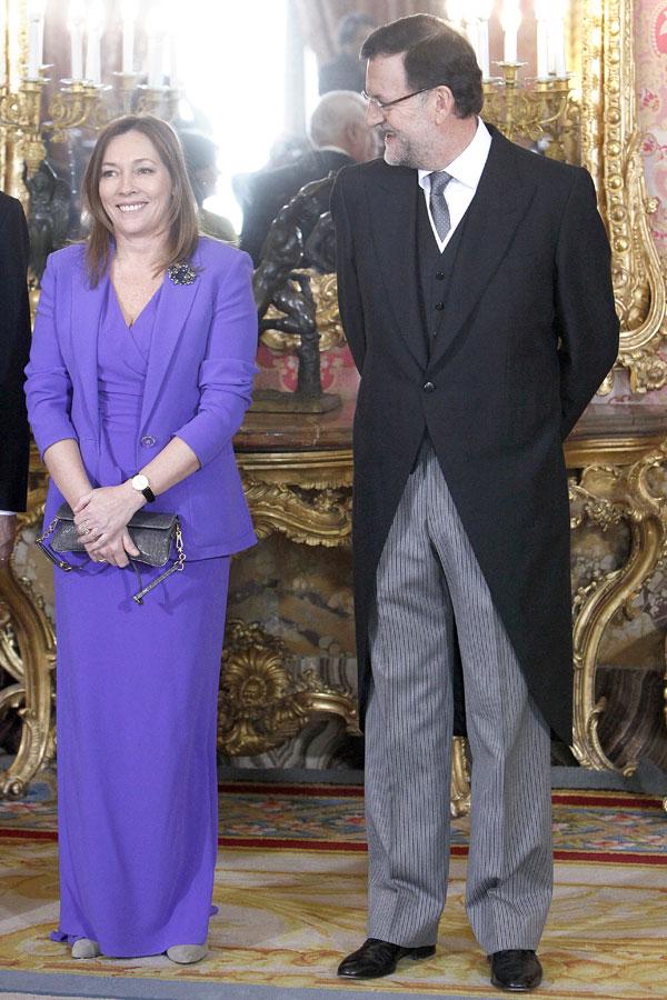 mariano rajoy y su esposa elvira-fernandez