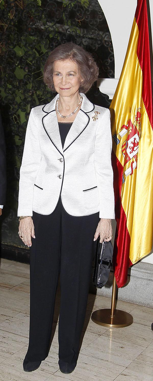 La Reina Sofía de España visita al embajador español en Guatemala, durante su visita oficial a Guatemala  Martes, 18 de marzo 2014  Guatemala