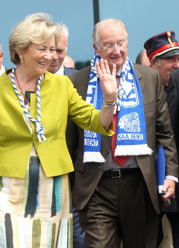 Alberto y Paola de Bélgica