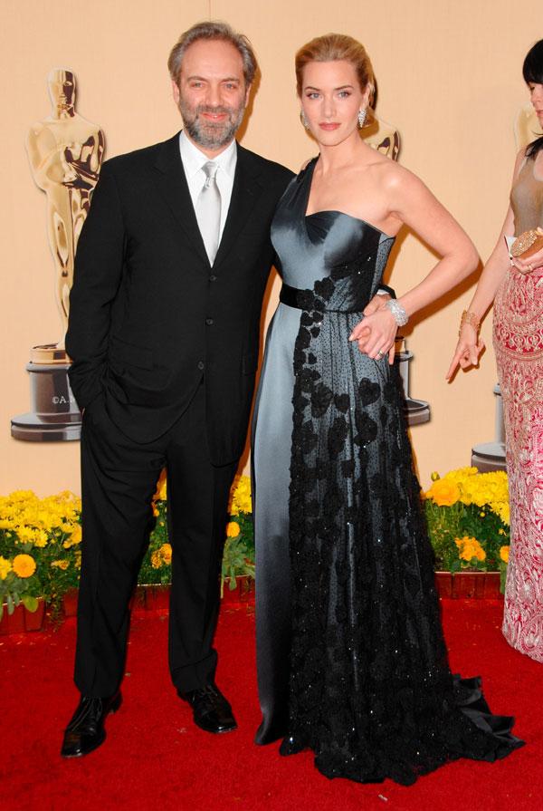 Con su segundo marido, el director de cine Sam Mendes.