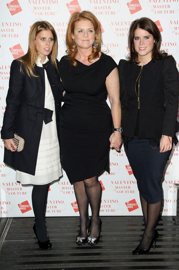 Olivia Palermo, Marie Chantal Miller y Sarah Ferguson, locas por Valentino