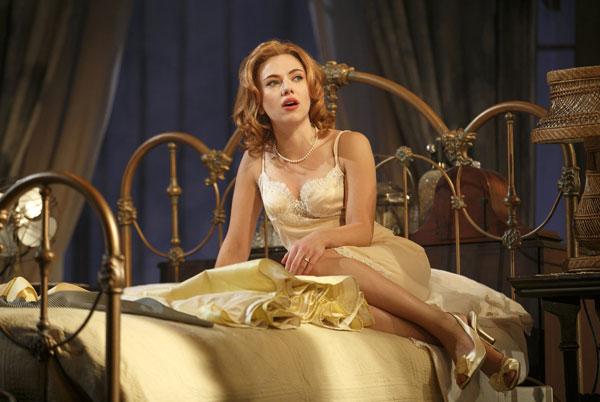 Scarlett Johansson interpreta La gata sobre el tejado de zinc