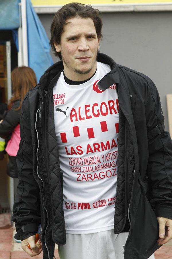 El actor Sergio Peris-Mencheta jugó con los artistas.