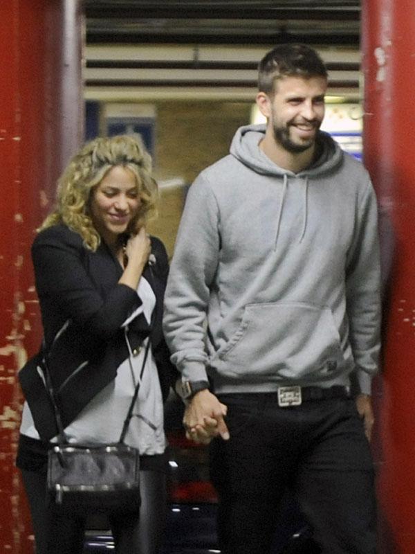 Shakira y Piqué serán esperan su primer hijo