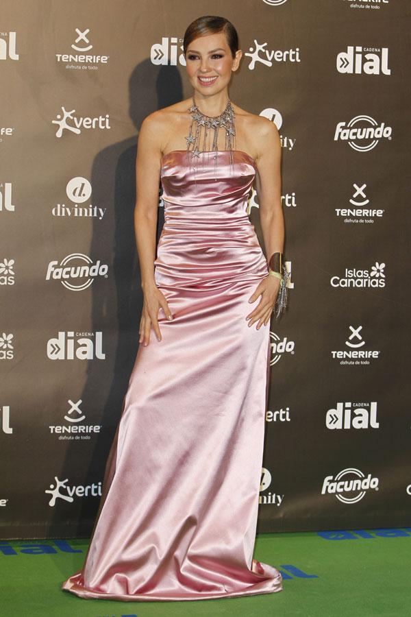 thalía, premios cadena dial