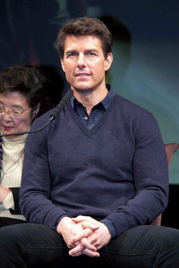 A sus 50 años, Tom Cruise sigue conservando un aire muy juvenil.