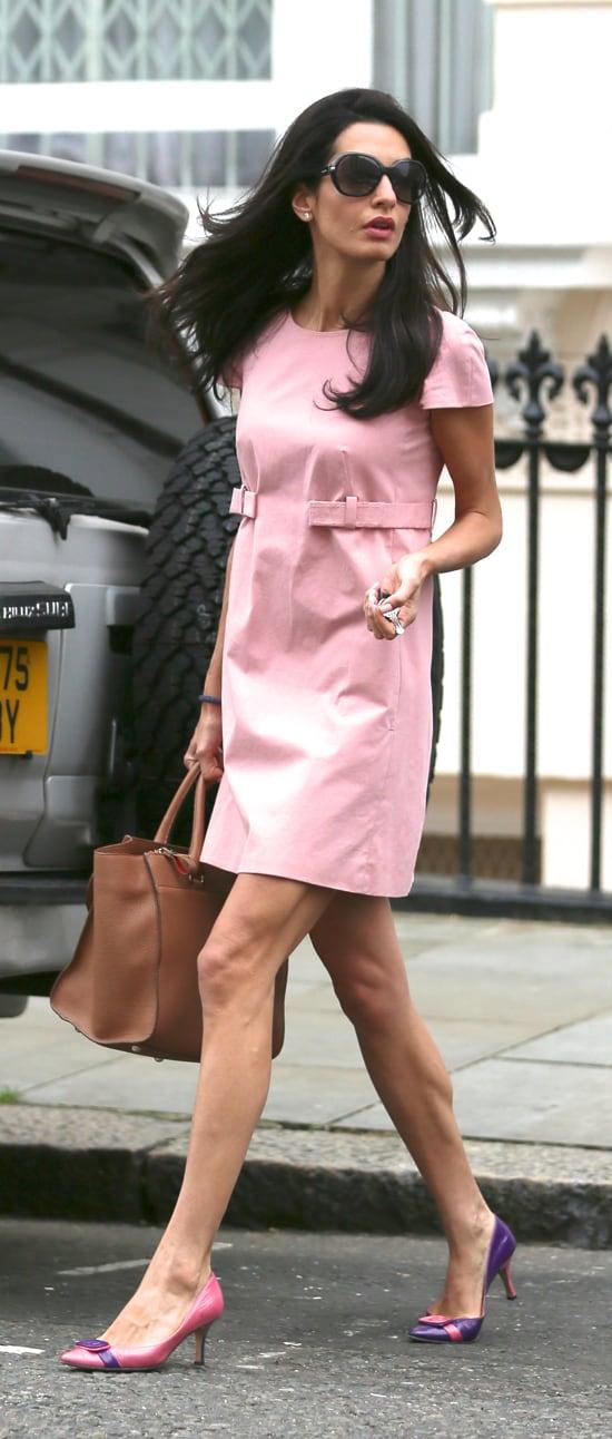 Amal Clooney, nominada a la más estilosa de Reino Unido rivalizando ...