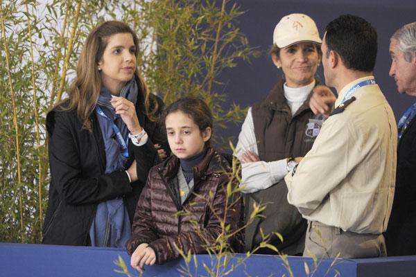 La infanta Elena, con su hija Victoria Federica