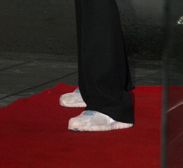 Mette-Marit de Noruega en zapatillas